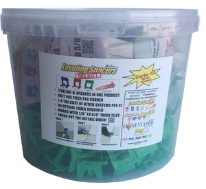 "Start Kit - 3/16"" Green Leveling Spacers® Select - Acufloor"