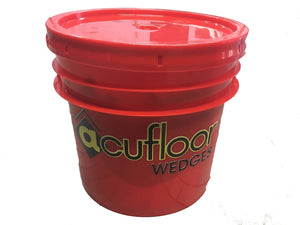 Reusable Window Wedges - Bulk 500 pcs in 3.5 Gallon Bucket w/ Lid