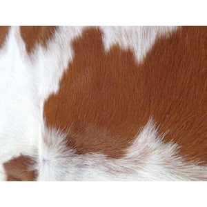 Cowhide Rug Natural by Narbonne Leather - Beautiful Brown and White Pattern - 200 x 186 cm - Luxury Designer Hide - 17MARMBRW04