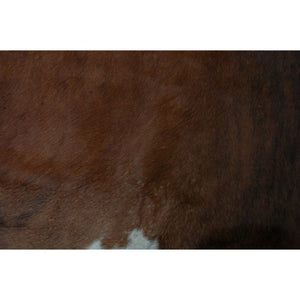 Cowhide Rug Natural by Narbonne Leather - Beautiful Brown Exotic Pattern - 217 cm x 189 cm - Luxury Designer Hide - 18AUG23EX03