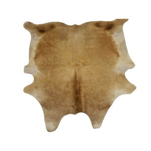 Narbonne Leather Co Authentic Cowhide rug - beautiful Brown - 3 48 m2-219 cm x 220 cm - handpicked for you - 18OCT34BRN40