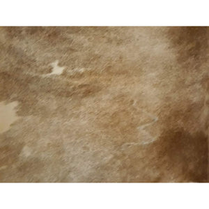 Narbonne Leather Co Authentic New Cowhide rug - beautiful Brown - 4 23 m2-251 cm x 220 cm - handpicked for you - 18OCT45BRN12