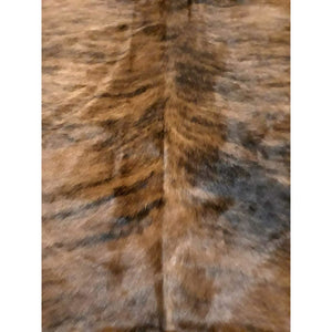 Narbonne Leather Co Authentic New Cowhide Rug - Exotic Brown Brindle - 35 75 Sq Ft - 205 Cm X 196 Cm - Luxurious Soft Natural Cow Hide -