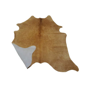 Narbonne Leather Co Cowhide Leather Rug - Beige - 29 50 Ft2- 213 Cm X 160 Cm - Handpicked For You - 18Oct23Bei10