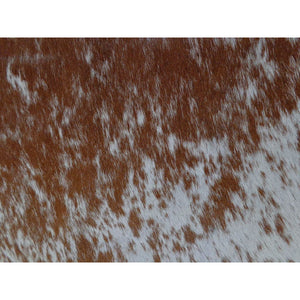 Narbonne Leather Co Cowhide Rug Brown And White - 198 Cm X 165 Cm Natural Luxury Designer Hide