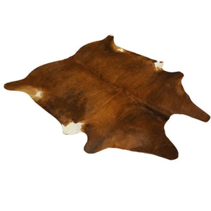 Narbonne Leather Co Genuine Cowhide Rug - Exotic Brown Brindle - 3 18 M2- 205 Cm X 196 Cm - Handpicked For You - 18Oct34Ex26