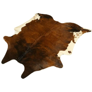 Narbonne Leather Co Genuine Cowhide Rug - Exotic Brown Brindle - 35 Sq Ft - 216 Cm X 197 Cm - Handpicked For You - 18Oct34Ex23