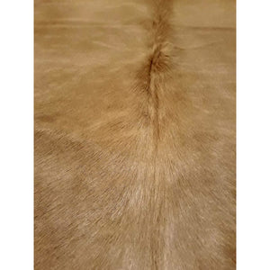 Narbonne Leather Co Natural Cowhide Rug - Beautiful Beige - 3 3 M2- 223 Cm X 199 Cm - Luxury Designer Hide - 18Oct34Bei37