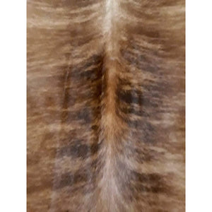 Narbonne Leather Co New Cowhide Leather Rug - Brown Exotic (Brindle) - 31 75 P2- 212 Cm X 179 Cm - Handpicked For You - 18Oct23Ex08