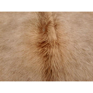 Narbonne Leather Co New Large Cowhide Leather Rug - Beige - 36 Ft2- 203 Cm X 215 Cm - Handpicked For You - 18Oct34Bei31