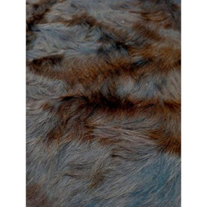 Narbonne Leather Cowhide Rug - Brown and White Pattern - 230 cm x 215 cm - Natural Leather Hide Co - 16MAYBRWN22