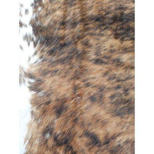 Narbonne Leather Cowhide Rug - Medium Exotic Pattern - 223 cm x 190 cm - Natural Leather Hide - 16AUGEXS10