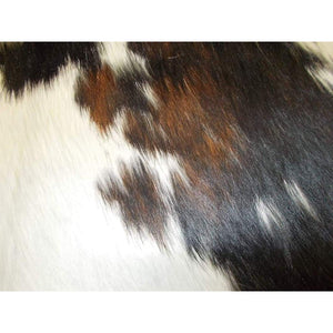 Narbonne Leather Natural Cowhide Rug - Exotic Pattern Hide - Approx 250 Cm X 180 Cm - Luxury Designer Hide