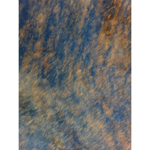 Narbonne Leather Natural Cowhide Rug - Medium Exotic Pattern - Approx 213 cm x 186 cm - Luxury Designer Hide - 16AUGEXS24