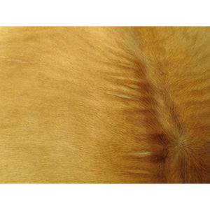 Natural Calfhide Rug - Beautiful Tan Pattern - Approx 98 cm x 67 cm - Luxury Designer Hide by Narbonne Leather Co - 19MARCS091