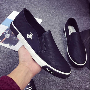 e837079890a068 2018 New arrival Low price Mens Breathable High Quality Casual Shoes PU  Leather Casual Shoes Slip On men Fashion Flats Loafer