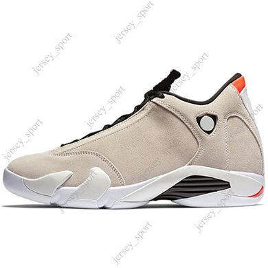 9cadd0b07113 14 14s mens Basketball Shoes Desert Sand DMP Last Shot Indiglo Thunder Blue  Red Suede Oxidized Green Black Toe men Sports Sneakers designer
