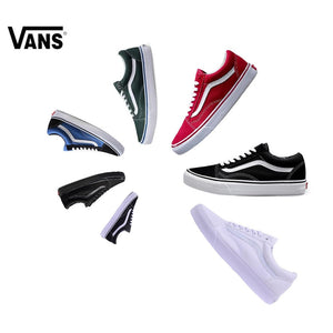 a30e5c8d0a2 Original Vans Old Skool Light-Weight Low-Top Men s   Women s Skateboarding  Shoes Sports Canvas Shoes Canvas Sneakers