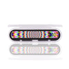 3Pcs Kaleidoscope Nano Glass Nail Buffer Shiny Grinding Nail File Nail Art Tool