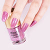 9ML Violet Crystal Diamond Glitter Nail Polish For Manicure Nail Art Decoration 004