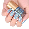 8ML Blue Pearl Mermaid Nail Varnish Shell Nail Polish For Manicure 003