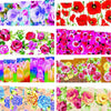 50 Sheets Flower Series Water Decals Transfer Nail Art Stickers For Manicure