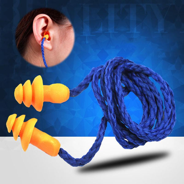 Noise Reduction Earplugs Soft Silicone Ear Protectors For Health Care