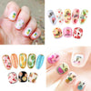 3D Summer Series Fruit Series Nail Art Stickers For Manicure