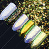 Unicorn Chrome Mirror Effect Nail Sequins Starry Laser Nail Art Glitters