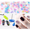 3D Flakes Holo Laser Stripe Nail Glitter Mermaid Sequins Nail Decoration Set