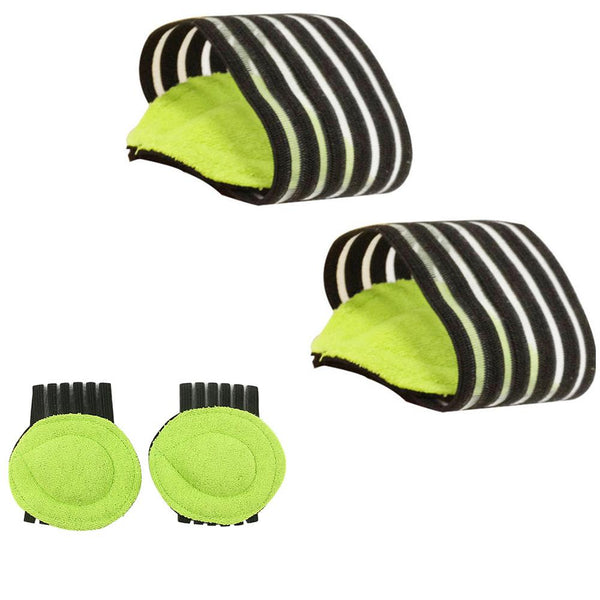 1 Pair Foot Arch Support Plantar Pads Aid Fallen Feet Health Care