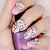 Shiny Rhinestone Square Flat Back Nail Decoration For Manicure