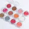 8 Colors Matte Glitter Powder Eyeshadow Pigment Palette For Makeup