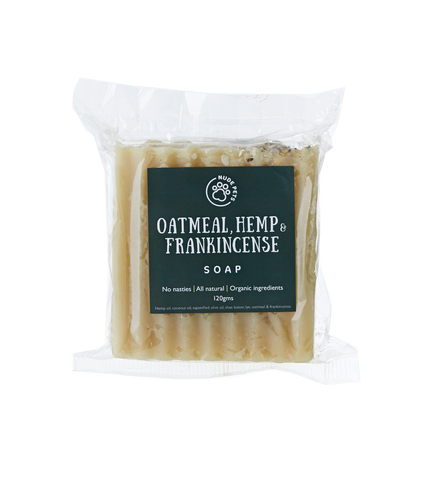 Hemp And Frankincense Soap - Palm Oil-Free, Vegan, Cruelty-Free