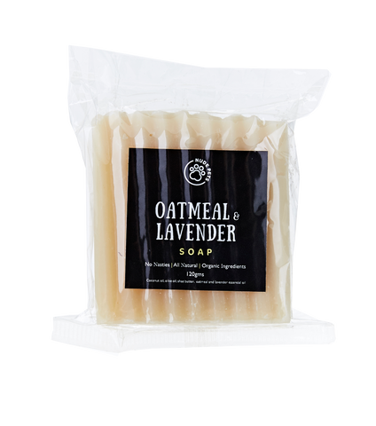 Oatmeal And Lavender Soap - Palm Oil Free | Vegan | Cruelty-Free