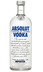 Absolut Vodka 1Liter
