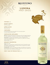 Load image into Gallery viewer, Lumina Ruffino Pinot Grigio