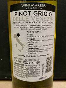 Zonin Winemakers Pinot Grigio