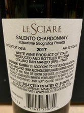 Load image into Gallery viewer, Le Sciare Salento Chardonnay