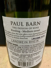 Load image into Gallery viewer, Paul Barn Riesling