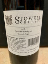 Load image into Gallery viewer, Stowell Cellars Cabernet