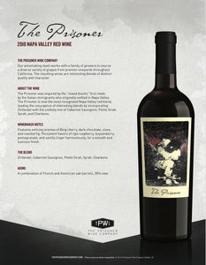 The Prisoner Red Wine