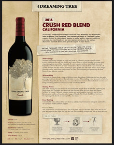 Dreaming Tree Crush Merlot/Zinfandel