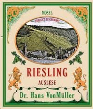 Load image into Gallery viewer, Dr. Hans Von Muller Riesling Auslese