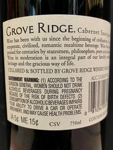Grove Ridge Cabernet