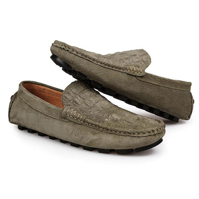 Tangnest Brand NEW 2017 Uomo Loafers Split Split Split Pelle Crocodile Pattern Flats Uomo So 22f017
