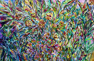 Wild Garden Untitled - 2020 - SOLD