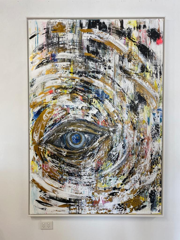 View of the World through the Eye of a Black Hole (SOLD)