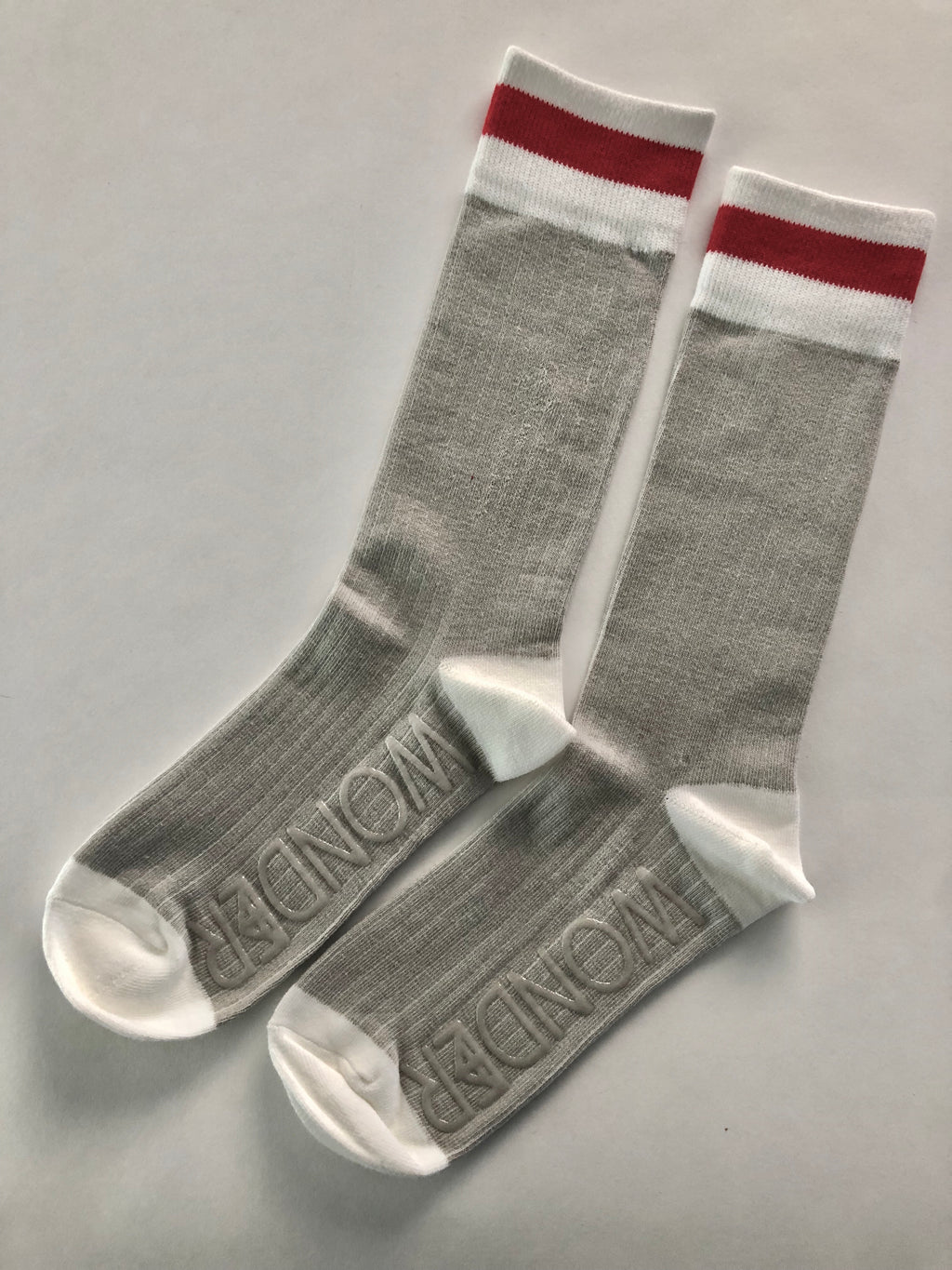 Classic Cabin Sock | Red Stripe | Adult