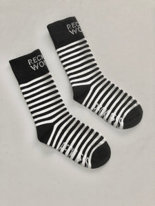 Striped Sock | Salt & Pepper | little kid